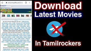 Download latest movies | in tamilrockers | malayalam |
