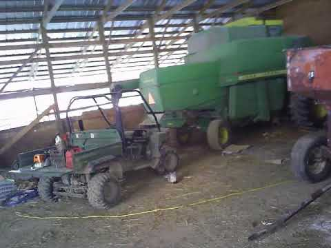 Cheap way to mix feed and feed cattle