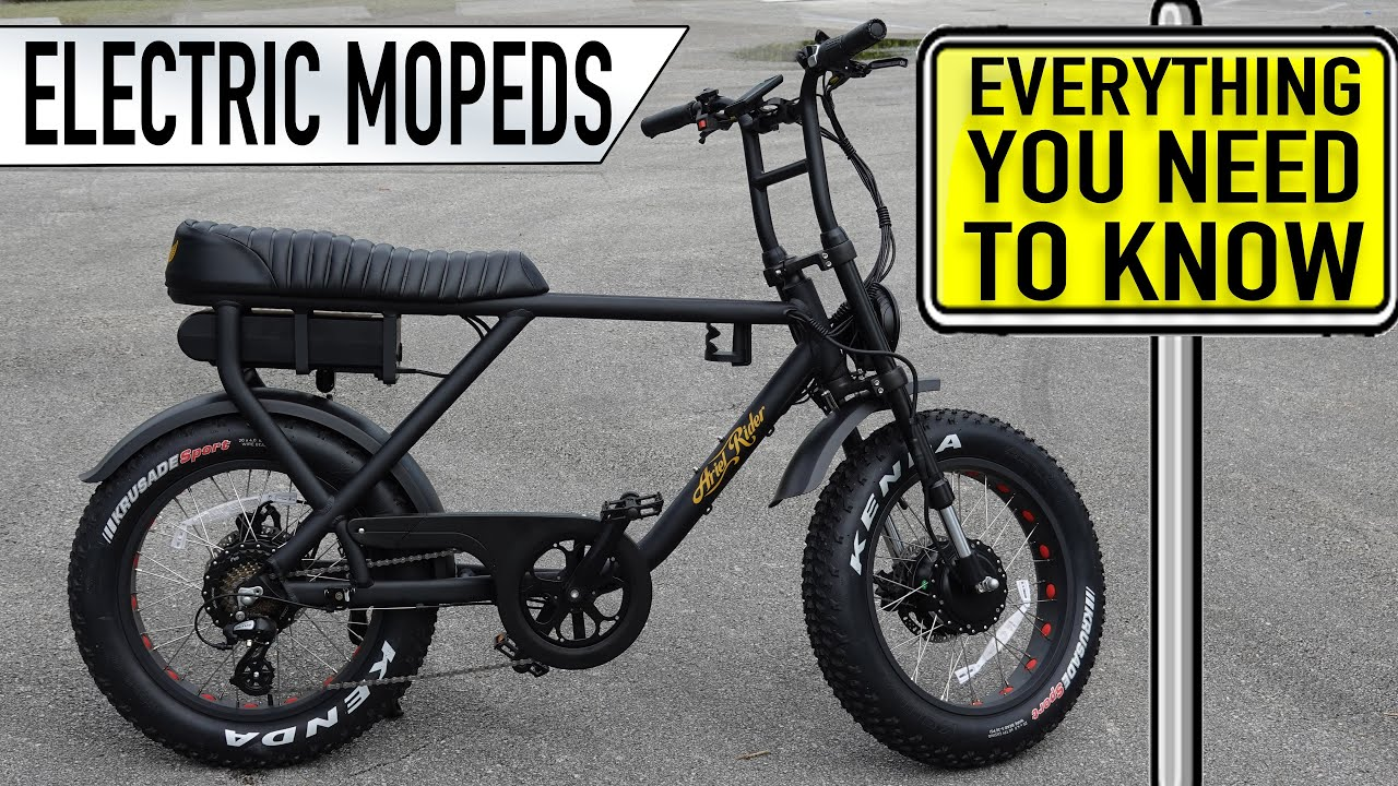 Electric MOPEDS - Everything you need to know before buying
