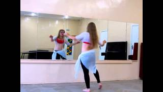 'Каракатица' Как делать?Танец живота уроки