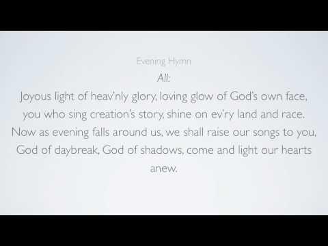 Holden Evening Prayer Part 1