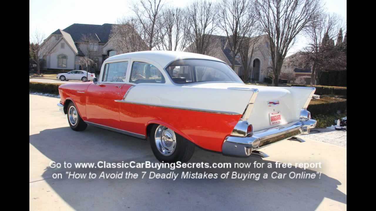 1957 Chevrolet 150 Post Classic Muscle Car For Sale In Mi