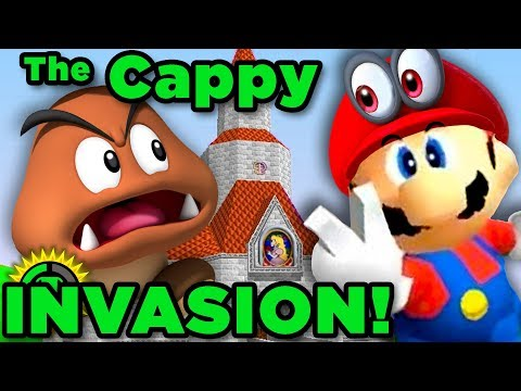 CAPPY INVADES Super Mario World! | Super Mario Hacks