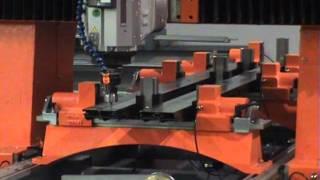 Tekna Model TK447 Four Axis CNC Machining Center