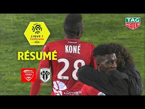Nîmes Olympique - Angers SCO ( 1-0 ) - Résumé - (NIMES - SCO) / 2019-20