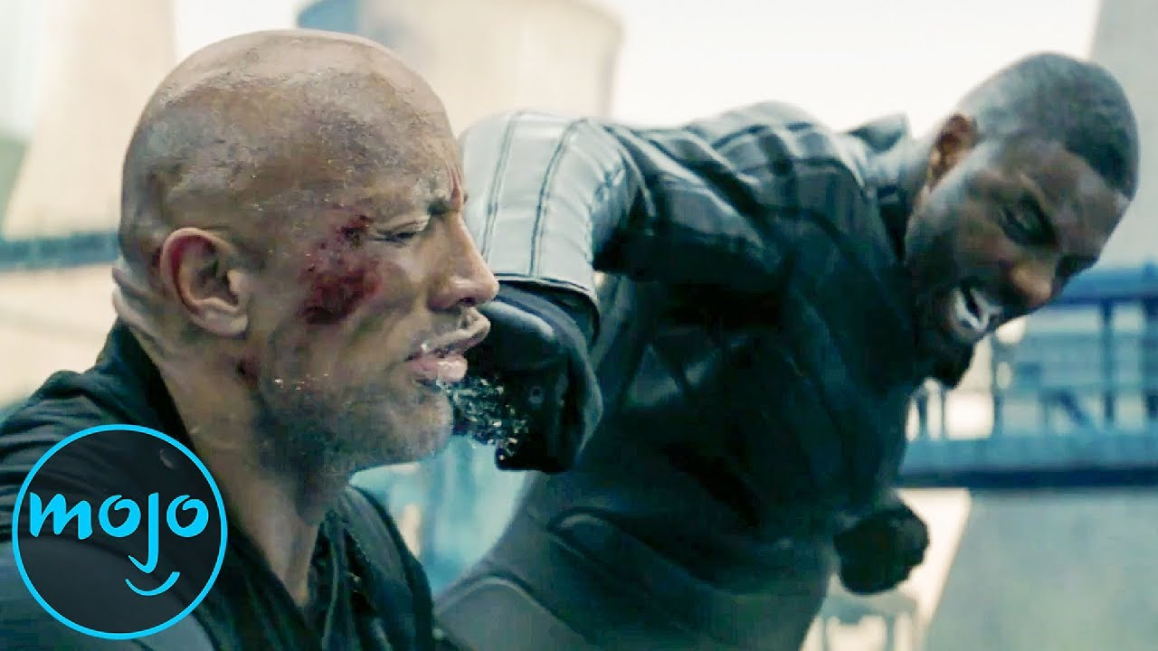 Top 10 Fight Scenes in Hobbs & Shaw and Fast & Furious