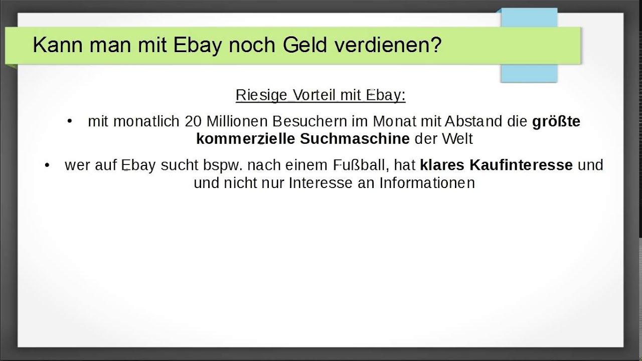 Ebay Geld Verdienen