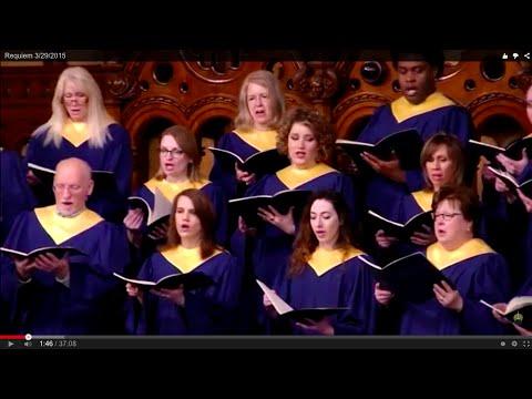 The Old Stone Church: Requiem - John Rutter  - 3/29/2015