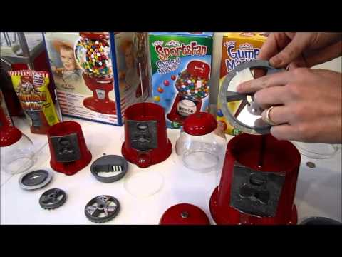 ford gumball machine disassembly