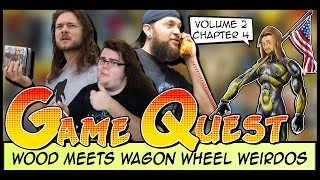 The Game Quest | Volume 2 Chapter 4 - 'Wood Meets Wagon Wheel Weirdos'