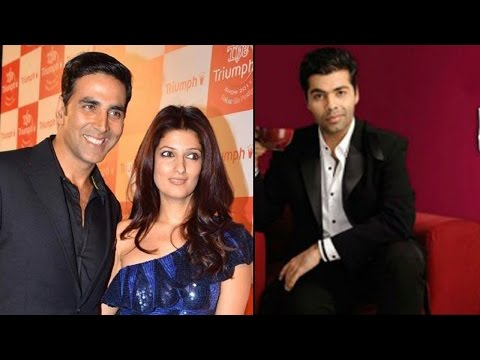 Akshay Kumar and Twinkle Khanna to appear on Karan's show for the first Time |Filmibeat