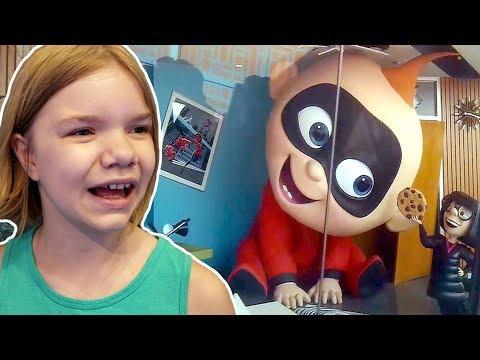 Incredicoaster! Incredibles Roller Coaster at Disney Pixar Pier POV