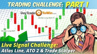 Trading Challenge Live Part 1 -  Watch and Learn how to Trade