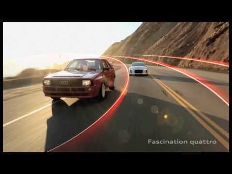 Audi quattro - the evolution...