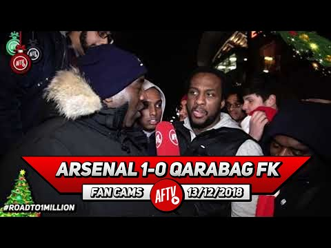 Arsenal 1-0 Qarabag FK | Would You Rather Win FA Cup Or Qualify For Champions League? (Ty & Afzal)