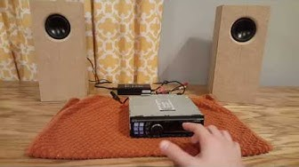 DIY - How to Make a Home Stereo from a  Car Stereo