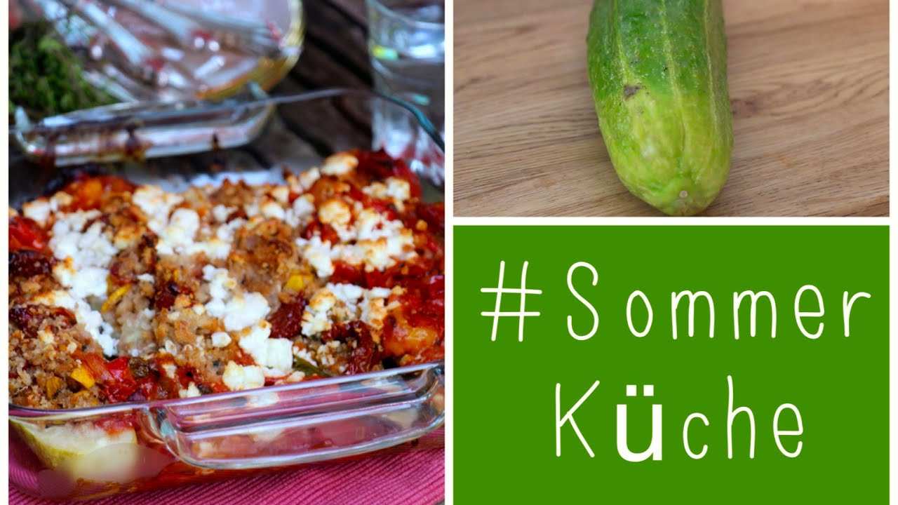 Leichte Sommerküche Thermomix : Sommerküche schmorgurken mit sommergemüse & feta youtube