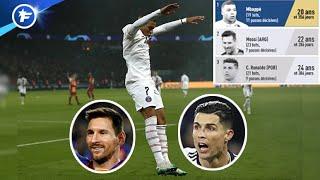 Kylian Mbappé meilleur que Messi et CR7   Revue de presse