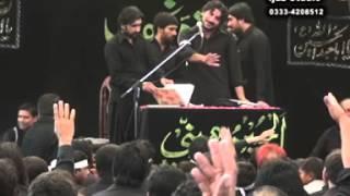 zakir syed imran haider kazmi  Reza e najaf 08Muharram  2013
