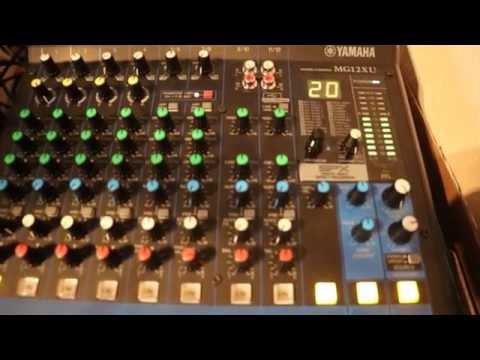 Yamaha MG 12XU Effects Demo - 24 Effects - YouTube