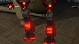 Lego Movie Videogame - Golden Instruction Build #15 - Lord Business