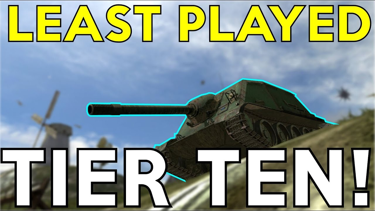 WOTB | THE LEAST PLAYED TANK?