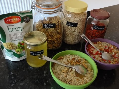 What to eat for Breakfast no milk Vegan Breakfast Muesli