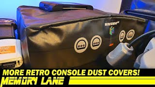More Retro Console Dust Covers (Memory Lane)