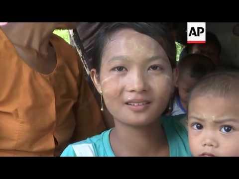 Buddhists leave Rakhine province after violence