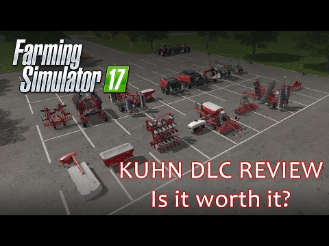 Kuhn Equipment Pack DLC Review - Farmings Simulator 17 - is it worth it?