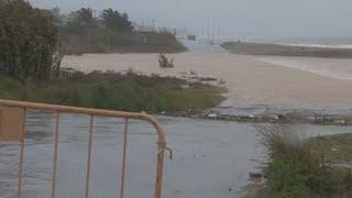 La gota fría se ceba en Castellón tras dejar registros históricos de lluvias