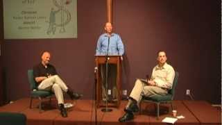 """Christian/atheist debate on """"the problem of evil"""" (theodicy) (4-22-12)"""