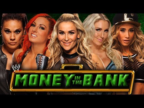 WWE2K17 Money in the Bank 2017: Women's Money in the Bank Ladder Match