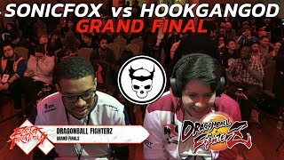 DBFZ Grand Final ▷ HookGangGod vs SonicFox ▷ ECT 2018