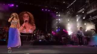 Shakira - Hips Don´t Lie - live at Krasnoye Leto Festival - Moscow - 2006
