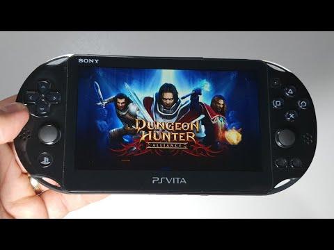 Dungeon Hunter: Alliance  | PS Vita Slim Handheld Gameplay