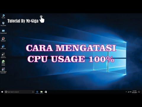 Tutorial Cara Mengatasi Cpu Usage 100 Di Windows 10 Hd Youtube