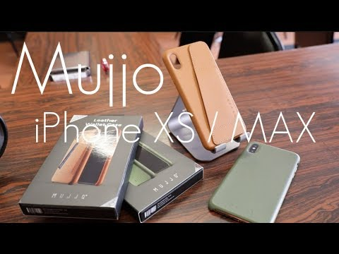 Mujjo Leather Wallet Case - Apple Leather Alternative! -  IPhone XS / MAX - Hands On Review!