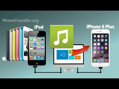 How to Sync All Music from iPod to iPhone 6 Plus, Transfer iPod Songs to iPhone SE