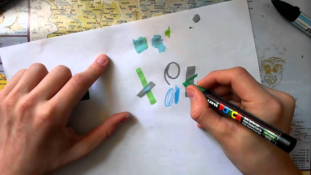 Utiliser des feutres peinture dessin en peinture youtube for Comment diluer de la peinture
