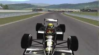[F1C] John Player Special Team Lotus-Renault 97T @ Estoril with Ayrton Senna (mod SG 71-2008) [HD]