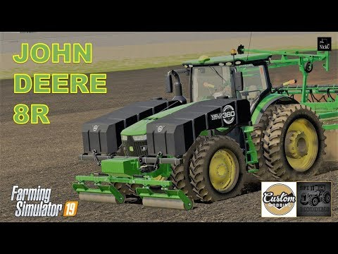 FS 19 - John Deere 8R, Lankota Stalk Stompers, 360 Yield Tank by CM/SFI Modding  - Presentazione Mod