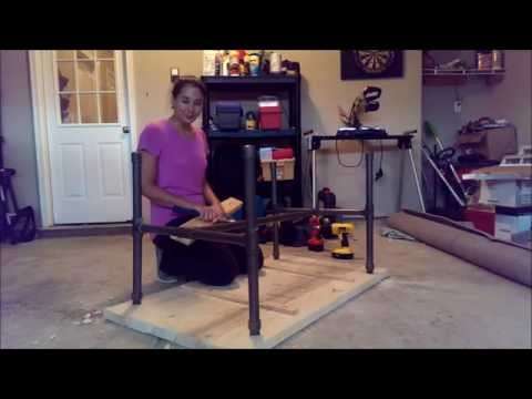 PVC pipe table