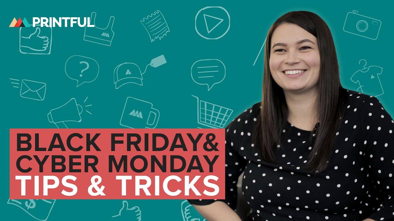 The Best of Black Friday-Cyber Monday Marketing | Blog - Printful