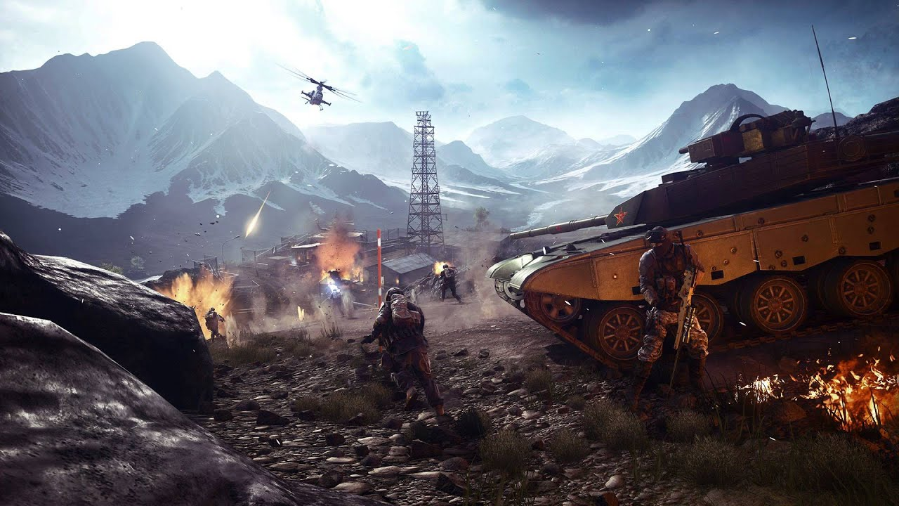 Battlefield 4: Altai Range Loading Screen