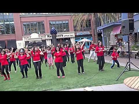 One Billion Rising for Justice - Santana Row, San Jose, California
