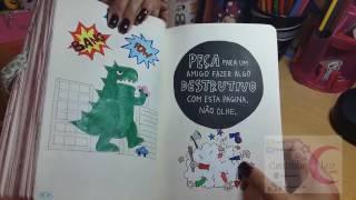 Desobedecendo as regras do livro Destrua este Diario thumbnail