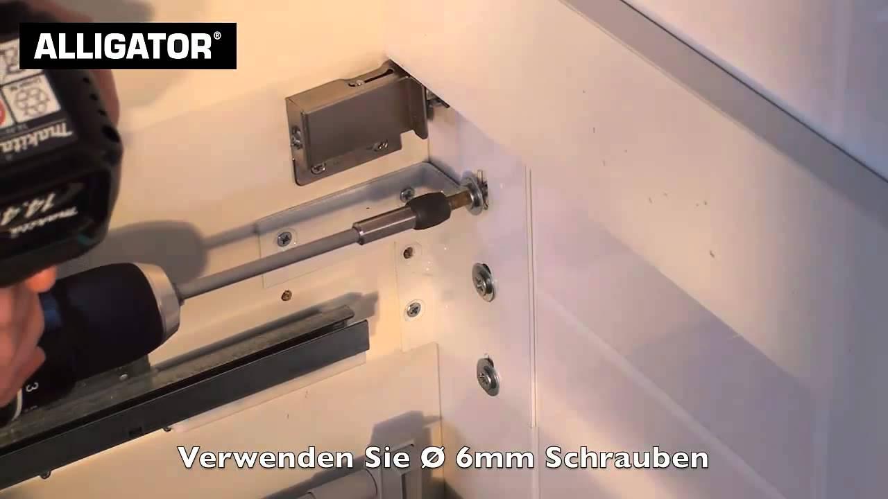Erstaunlich Badmöbel an Porenbeton befestigen mit ALLIGATOR Dübel & Anker  YA72