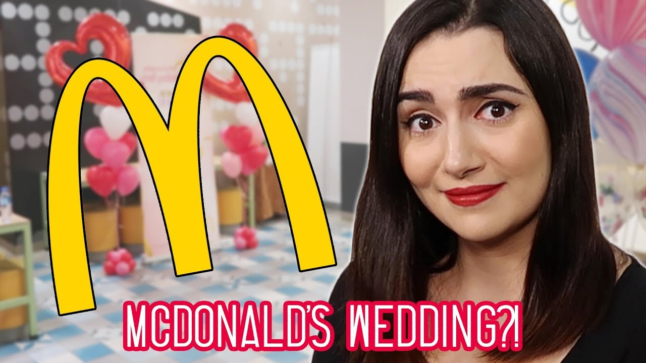 We Had A McDonald's Wedding In Hong Kong