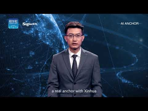 World's first AI news anchor makes China debut
